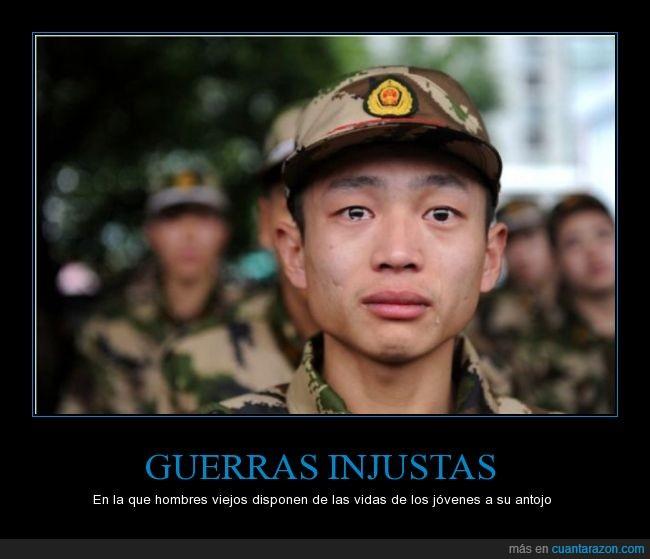 asia,chico,cita,george mcgovern,guerra,joven,lagrima,llanto,llorando,llorar,soldado