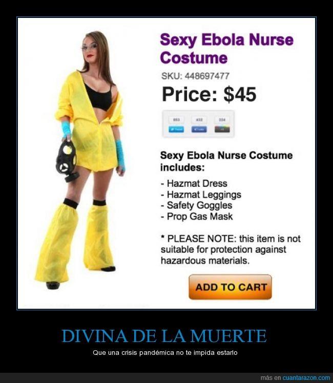 aún así mejor protegida que en españa,divina,ebola,nurse,traje