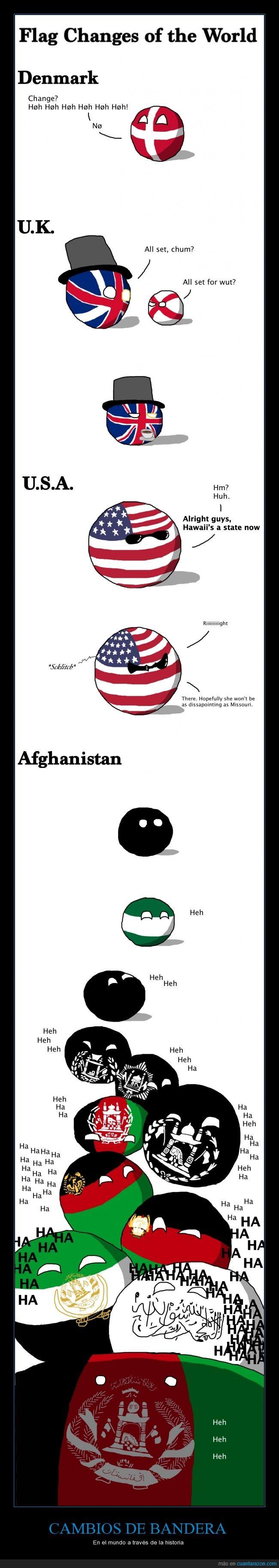 Afganistán,Banderas,cambio,historia,Países,polandball