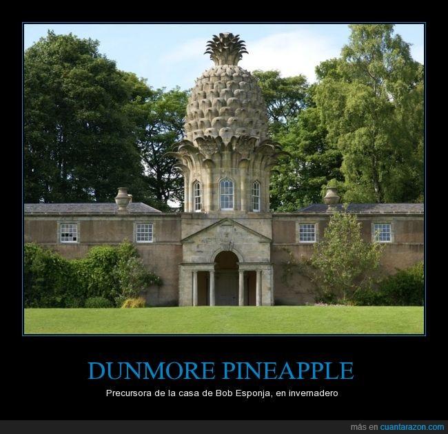 Bob Esponja,Casa,Dunmore Pineapple,edificio,escocia,extraño,forma,piña