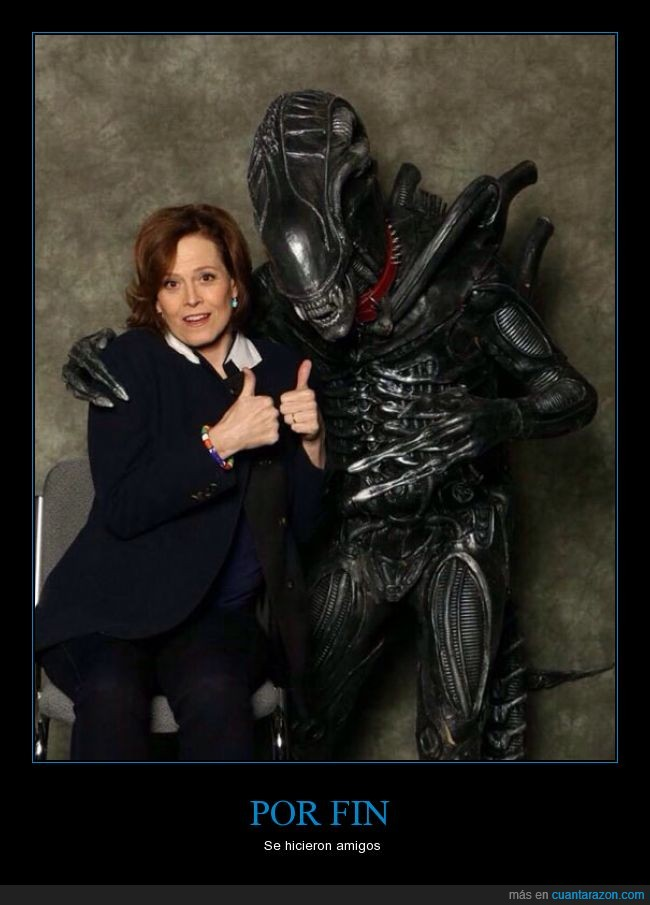 aliens,amigos,pelicula,ripley,sigourney weaver,teniente ripley