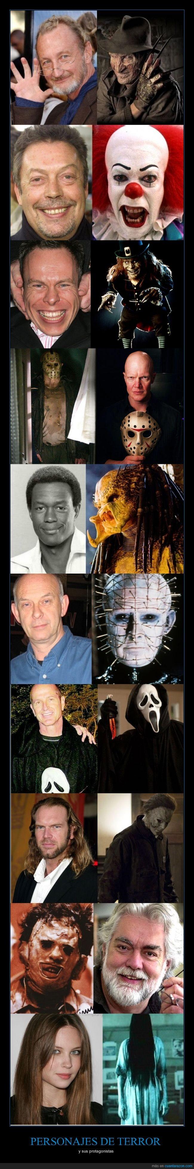 actores,Halloween,películas,terror