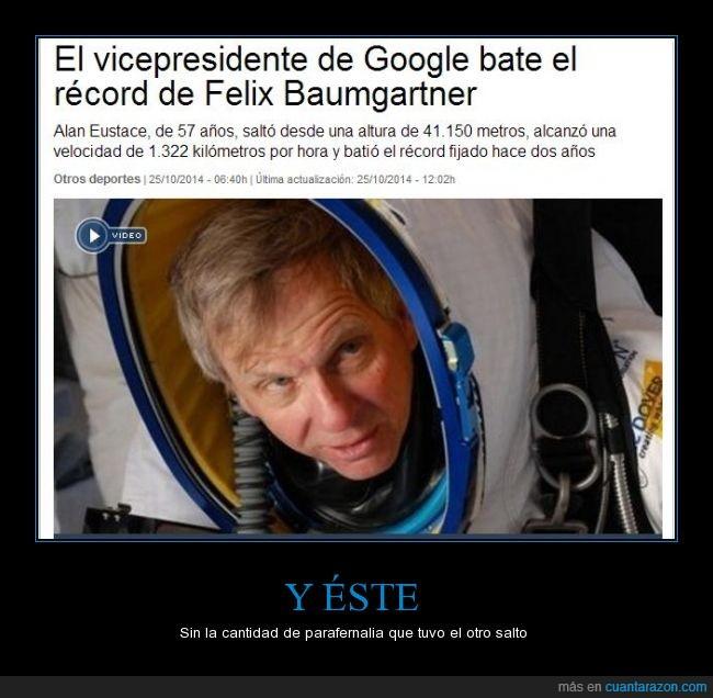 estratosfera,Felix,google,record,redbull,salto