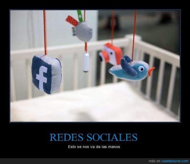 Bebe,cuna,Facebook,instagram,logo,movil,tweet,Twitter