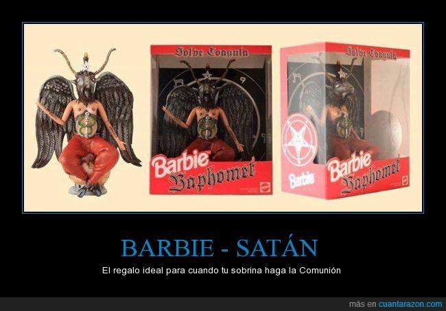 barbie,belzebu,LOL,moda,muñecas,satán
