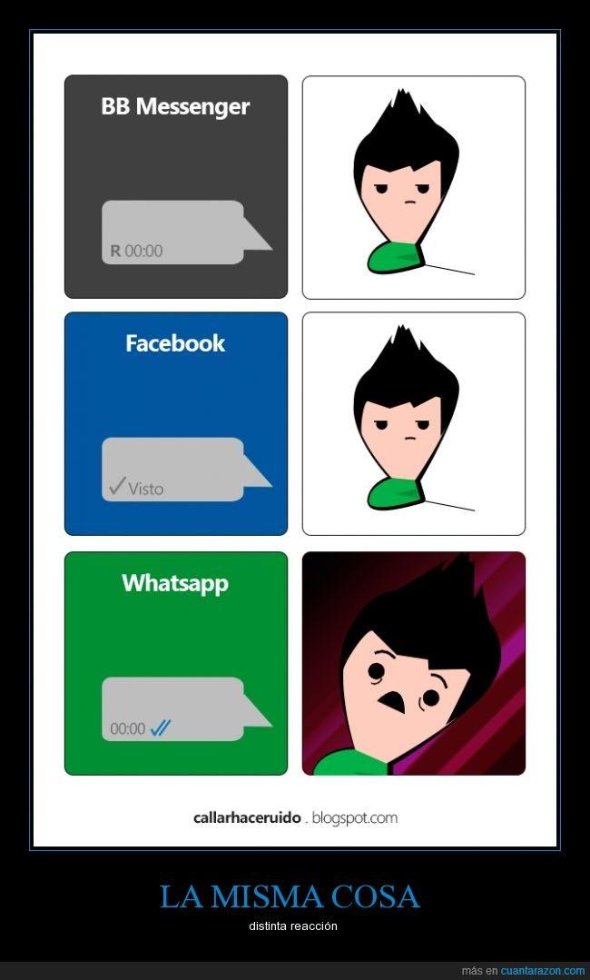 check azul,reaccion,visto,whatsapp
