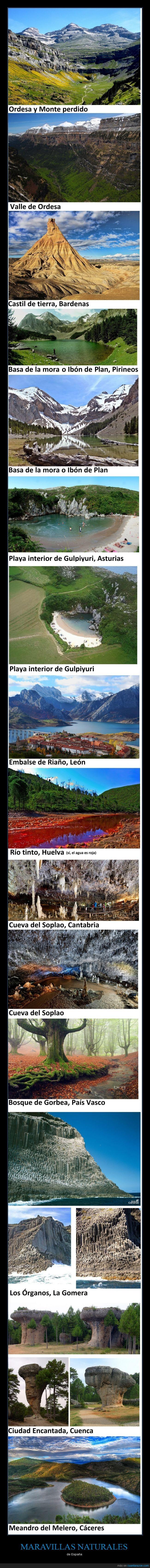 asturias,canarias,cantabria,ciudad encantada,cueva,españa,esperemos que no pierdan mucha calidad las fotos,gomera,gorbea,lagos,maravillas,montañas,naturales,ordesa,órganos,país vasco,paisajes,ríos