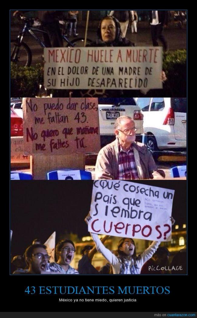 43,asesinato,ayotzinapa,estudiantes,justicia,matar,Mexico,revolución