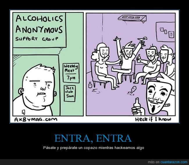 aa,alcoholicos,alcoholics anonymous,anonimos,careta,guy fawkes,support,v de vendetta