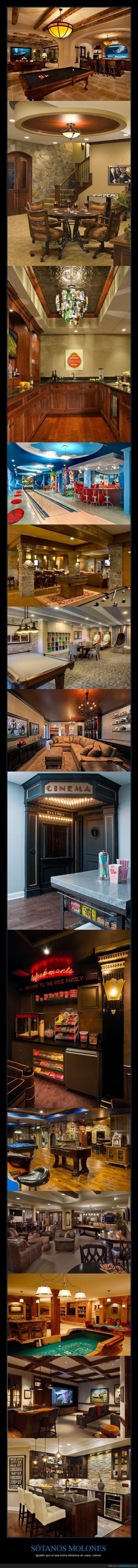 cine,consola,deportes,jugar,man cave,molon,pantallas,reformado,reformar,sotano,tele,ver