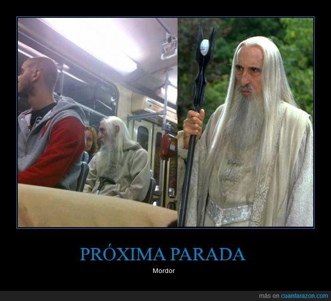 humor,metro,Mordor,parecidos,película