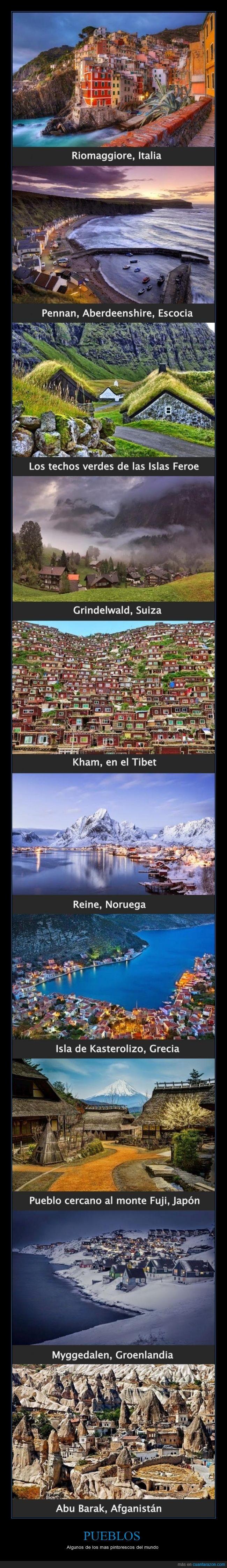 Abu Barak,Afganistán,Fuji,Grecia,Groenlandia,Japón,Kasterolizo,Myggedalen,Noruega,pintorescos,Reine,Tibet