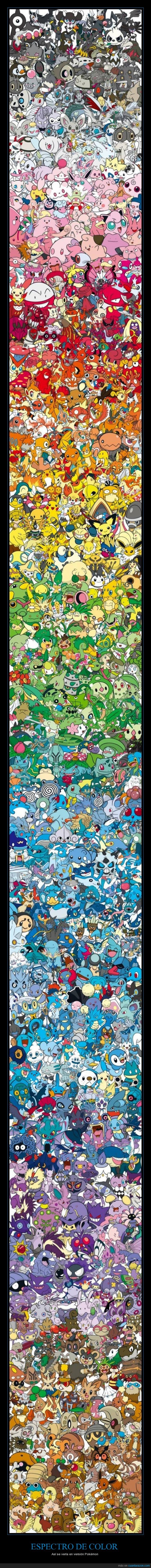 colores,currado,espectro de color,pokémon