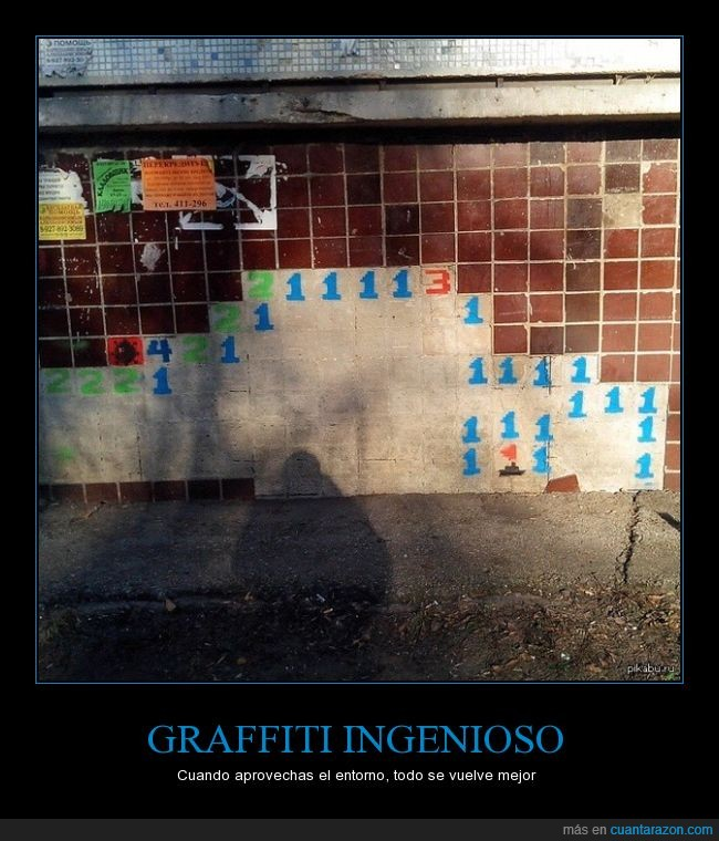 baldosas,buscaminas,caer,caida,gamer,graffiti,ingenioso,inteligente,mosaico,videojuego,windows