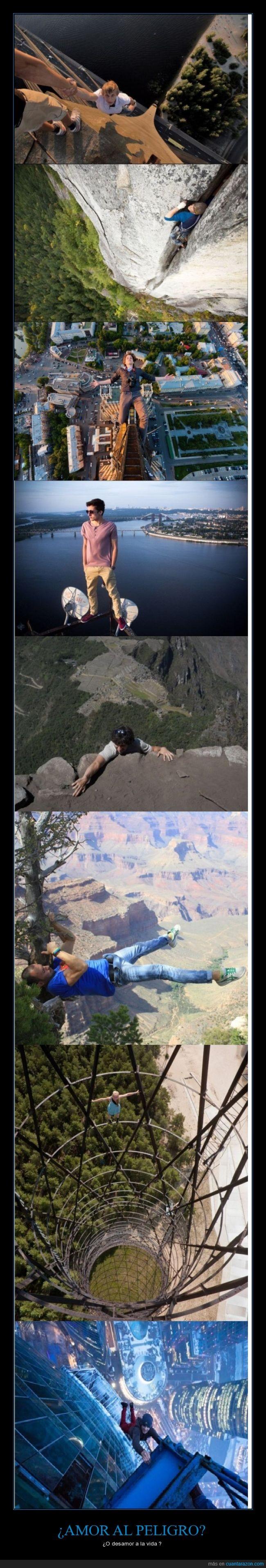 adrenalina,altura,caer,peligro,riesgo,vértigo