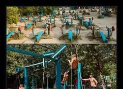 Enlace a Kachalka Muscle Beach