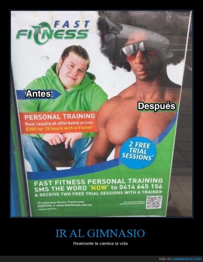 afro,blanco,chico,fuerte,gimnasio,gordo,negro,pelo,tio duro