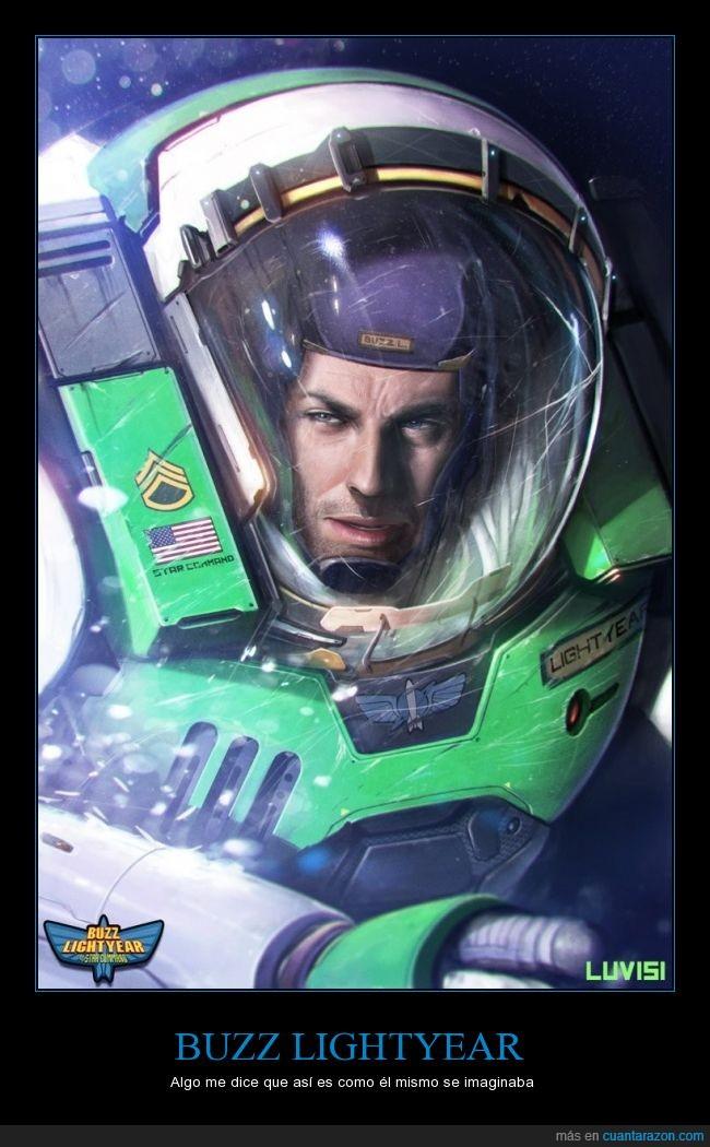 Buzz Lightyear,ilustracion,real,realidad,realista,toy story