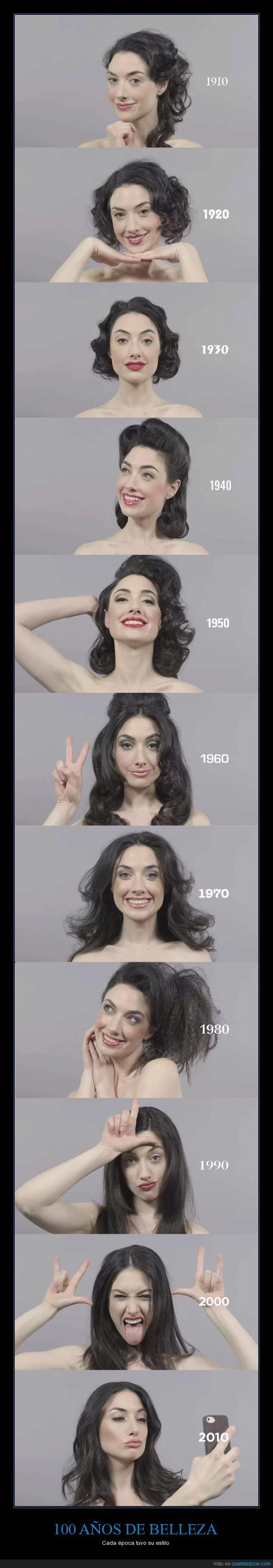 año,belleza,chica,decada,epoca,hippy,maquillaje,peinado,rockabilly,selfie