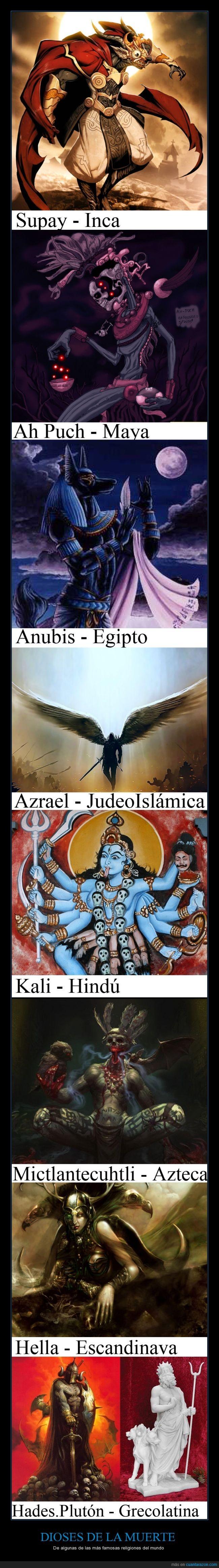 dioses,famoso,incas,india,interesante,mayas,muerte,religion,Religiones