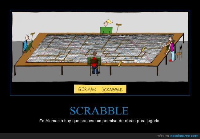 alemania,jugar,larga,mesa,palabras largas,scrabble