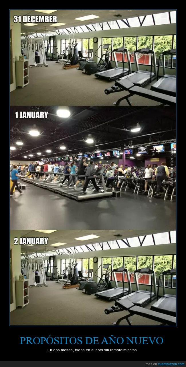año,apuntar,enero,gimnasio,lleno,nuevo,proposito,todos,vacio