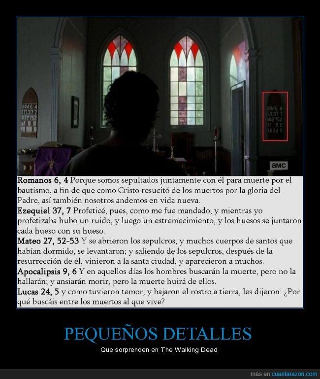 Apocalipsis,Biblia,El padre debió de morir,Pasaje bíblicos,Rick Grames,The Walking Dead,Versículos,Zombie