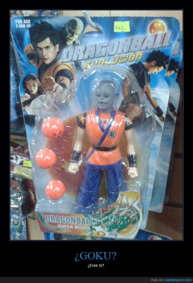 bola de dragon,cara,diferente,dragon ball,dragonball z,fusión?,goku,juguete,pelicula
