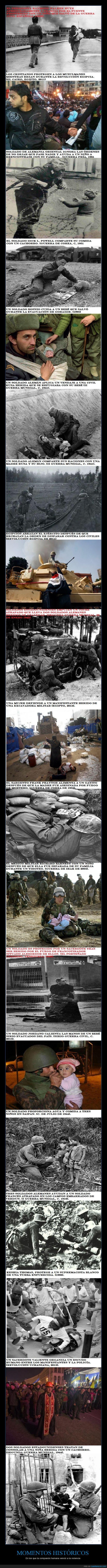 ayudar,compasión,curar,esperanza,guerra,momentos,salvar,soldado,soldados