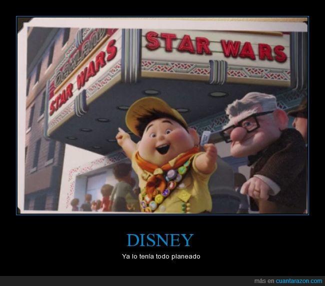 cine,comprar,disney,predicción,star wars,up