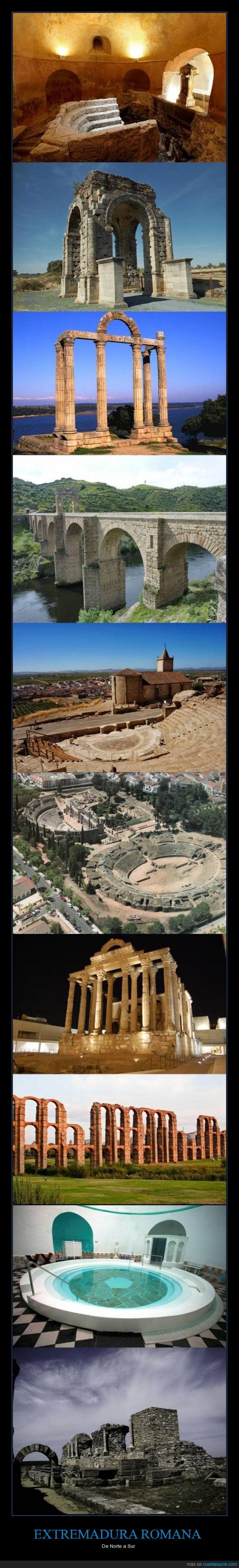 Alange,Alcántara,Arqueología,Augustobriga,Baños de Montemayor,Cáparra,Extremadura,Medellín,Mérida,Monumentos,Regina,Roma