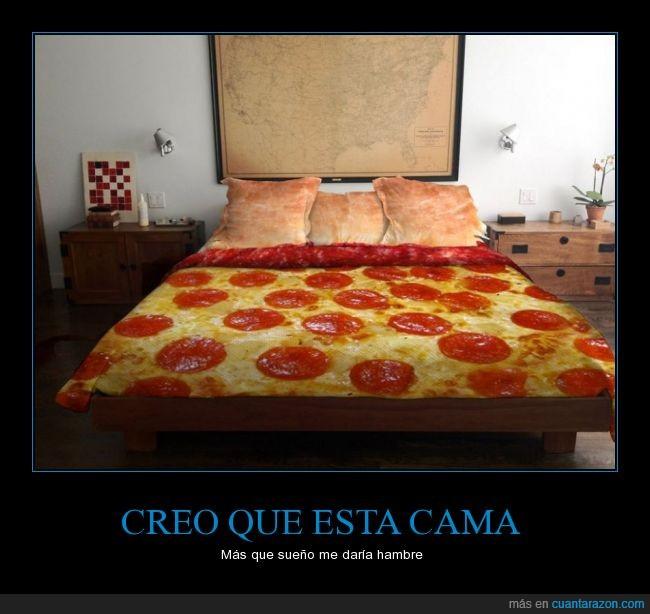 cama,cobija,edredon,funda,habitacion,manta,matrimonio,nordica,peperoni,pizza