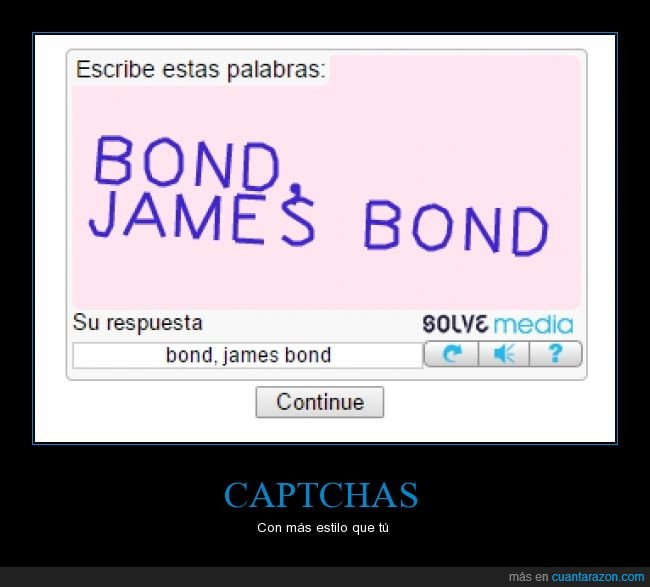 captcha,descarga,estilo,golden night,internet,james bond