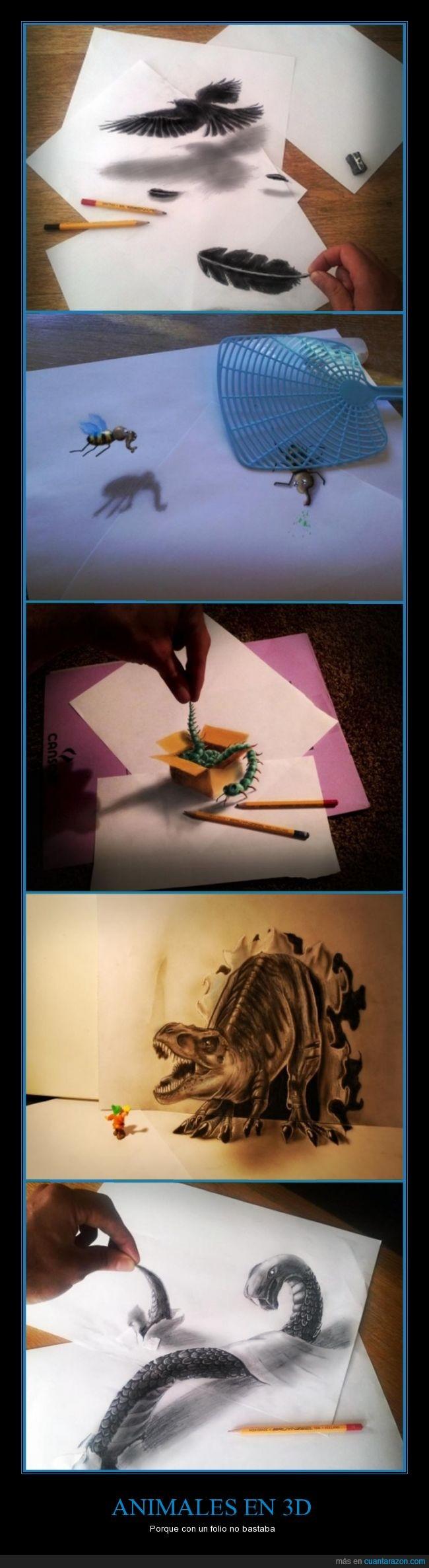 águila,animales,cienpiés,dibujo,dinosaurio,folio,mosquito,papel,serpiente