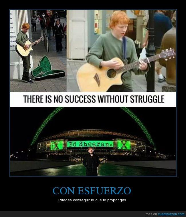 calle,Ed Sheeran,esfuerzo,estadio,llenar,musica,musico,superacion,tocar