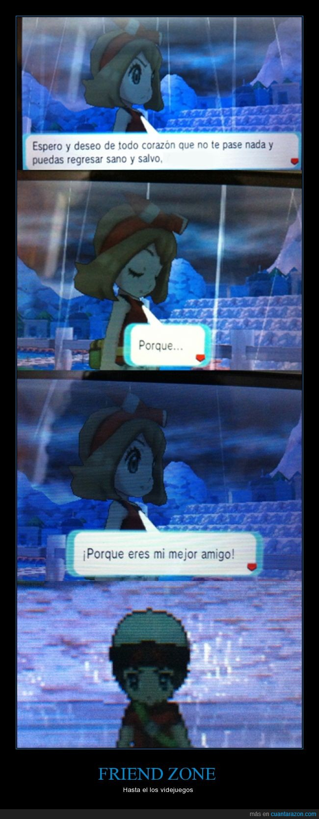 friendzone,game,nadie se salva,pokemon