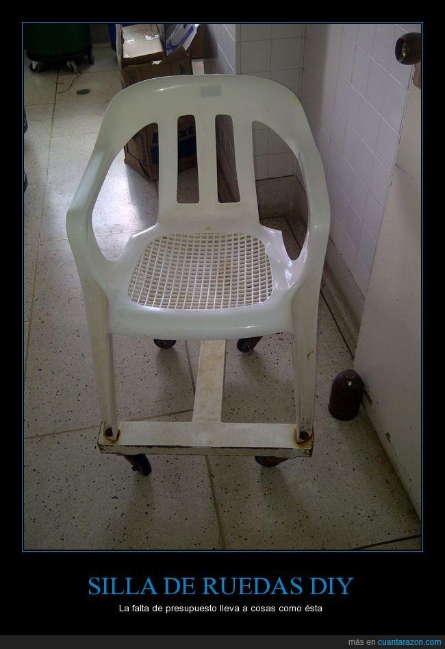 bricolaje,hazlo en casa,lavadora,manitas,peligro,ruedas,silla