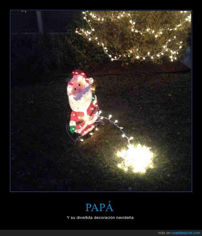 decoracion,luz,mea,navideña,papá,papa noel,pis,santa claus
