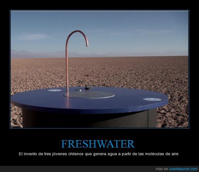 agua,aire,chile,invento,lean el enlace antes de comentar,maravilla,particulas,yeah science!
