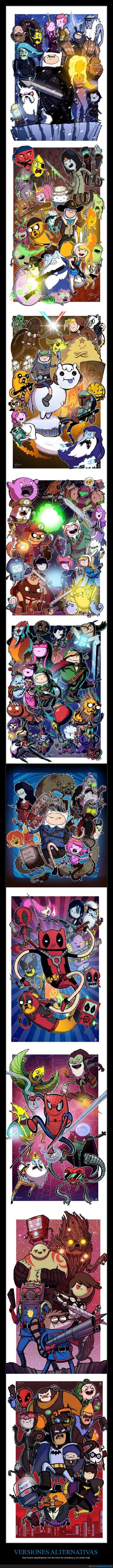 batman,deadpool,evil dead,guardianes de la galaxia,hora de aventura,juegos de tronos,nintendo,smash bros,spider-man,star wars,the legend of zelda,the walking dead,un show mas.