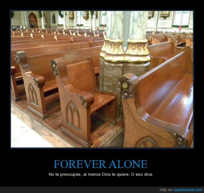 banco,católico,columna,iglesia,persona,silla,solo,templo