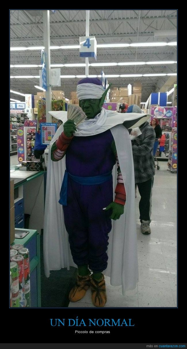 cosplay,disfraz,dragon ball,namek,Piccolo,tienda
