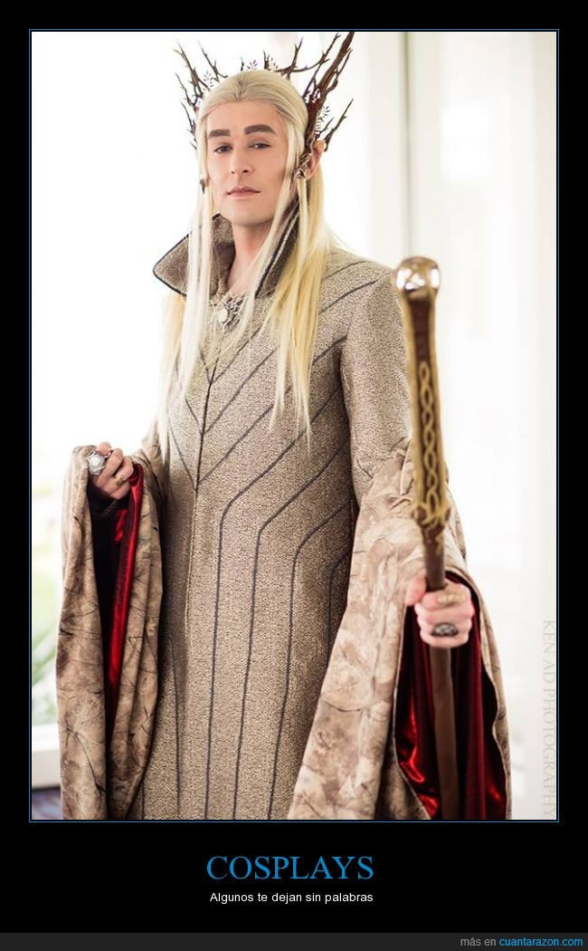 cosplay,Joshua Duart,long live to the,party king,Thranduil