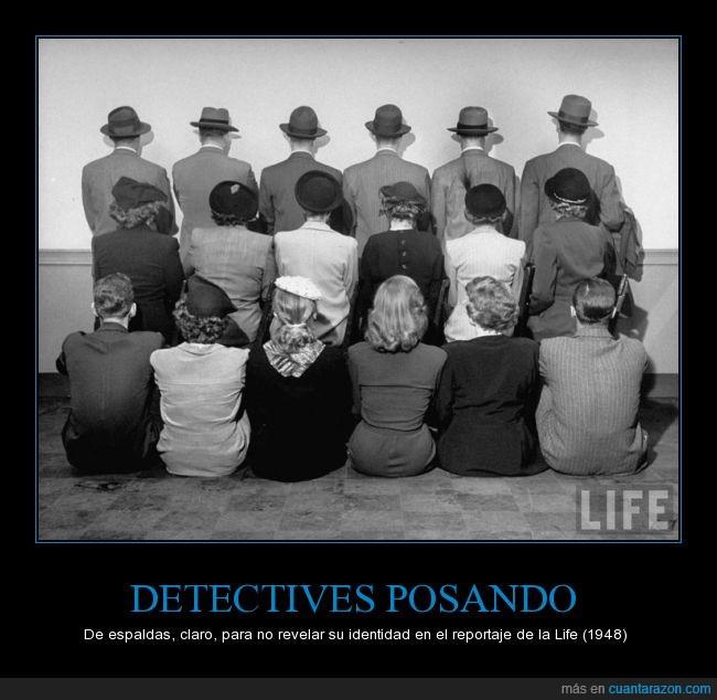 1948,detectives,life,posando,revistas,secreto