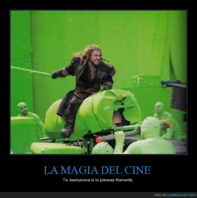 caballo,croma,El Hobbit,gente rara,magia del cine,The Hobbit,Thorin Escudo de roble