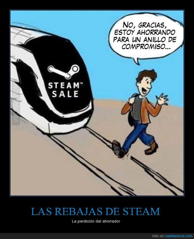 ahorrar,anillo,dinero,juegos,rebajas,steam,tren