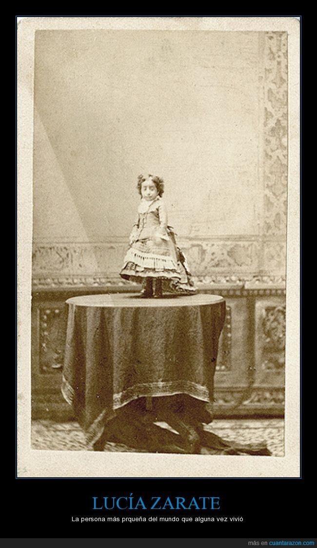 enanismo primordial,la mujer mas pequeña del mundo,Lucía Zárate,mexicana,México,pequeña
