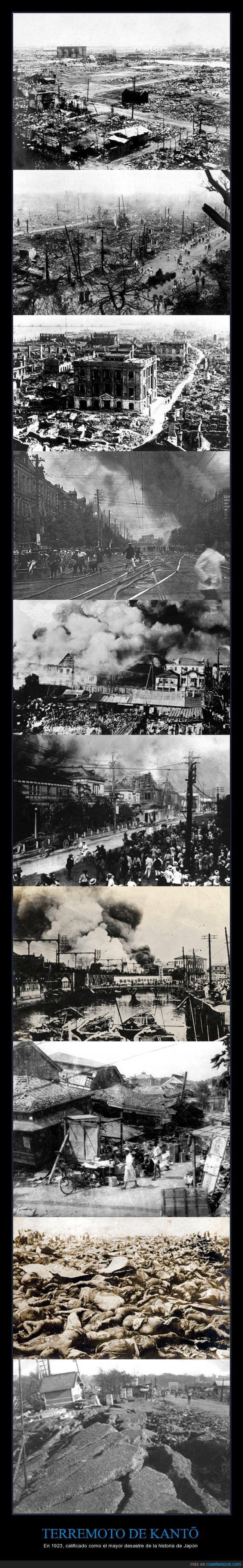 1923,Asesinatos,Desastre,Escombros,Incendios,Japón,Kantō,Muertes,Récord,Ruinas,Saqueos,Terremoto