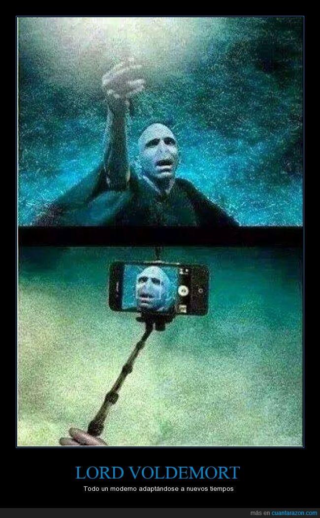mainstream,moderno,pal insta,palo,selfie,varita,voldemort