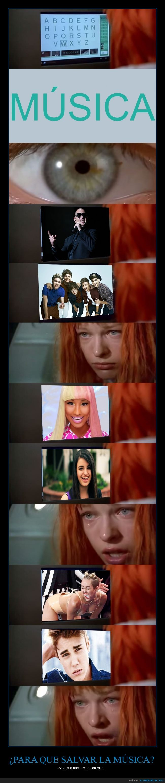 el quinto elemento,Justin Bieber,Miley Cyrus,música basura,nicki minaj,one direction,pitbull,rebecca black,tristeza